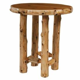 Cedar Round by Fireside Lodge Furniture
