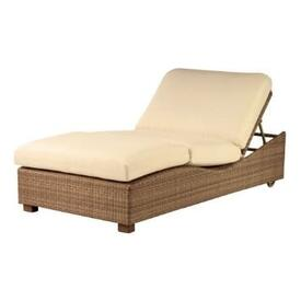 Montecito Double Chaise Lounge by Woodard