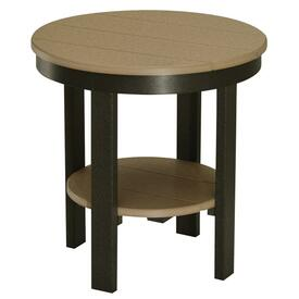 Round End Table by Berlin Gardens