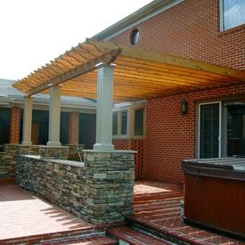 Adams Pergola Project by Leisure Select
