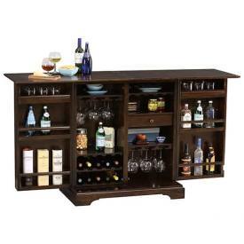 Benmore Valley Wine & Bar Cabinet by Howard Miller