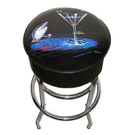 Card Shark Bar Stool by Michael Godard