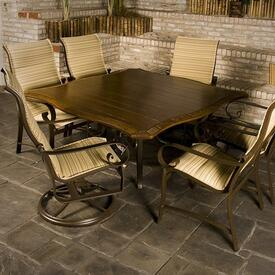 Belden Padded Dining by Woodard