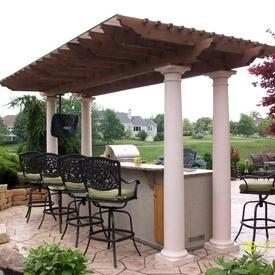 Roman Pergola Project by Leisure Select