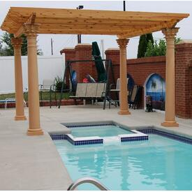 Smith Pergola Project by Leisure Select