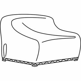 Loveseat Glider Water Resistant Cover by Treasure Garden