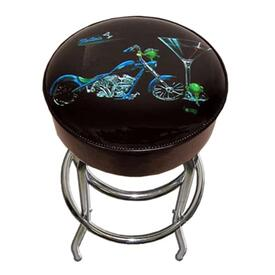 Custom Martini Bar Stool by Michael Godard