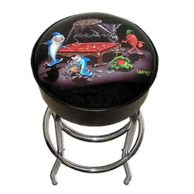 Pool Shark III Bar Stool by Michael Godard