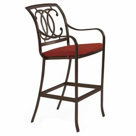 Palladian Double C Cast Bar Stool by Tropitone