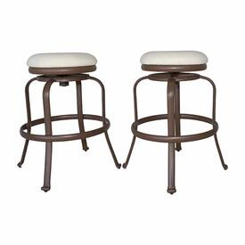 Tiki Bar Backless Barstool (Set of 2) by Panama Jack
