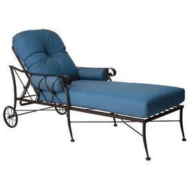 Derby Chaise Lounge by Woodard