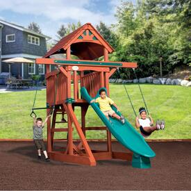 Adventure Treehouse Junior Space Saver – Wood Roof