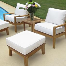 Coastal Group in White by Royal Teak