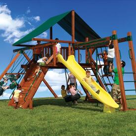 Olympian Peak 3 Play Set by Backyard Adventures