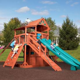 Titan Treehouse Jumbo 4 by Backyard Adventures