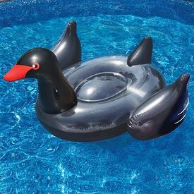 Black Swan Inflatable Pool Lounge