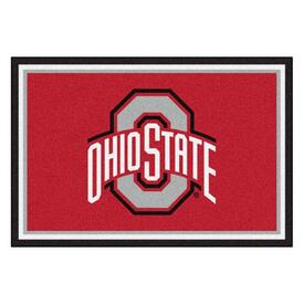 Ohio State College Team Spirit Area Rug by Milliken