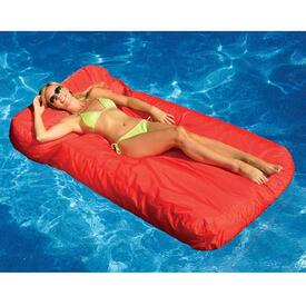SunSoft Inflatable Mattress - Red
