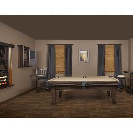 The Carter Pool Table by Presidential Billiards