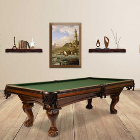 The Monroe Pool Table by Presidential Billiards