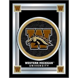 western michigan logo mirror
