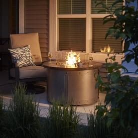 Edison Fire Pit Table by Outdoor GreatRoom