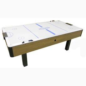 Arctic Wind Oak Air Hockey by Dynamo