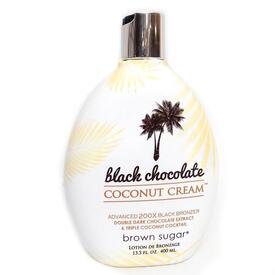 Black Chocolate Coconut Cream Bronzer Lotion