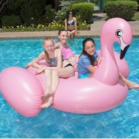 Jumbo Inflatable Flamingo by Poolmaster