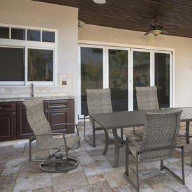MainSail Woven Dining Collection