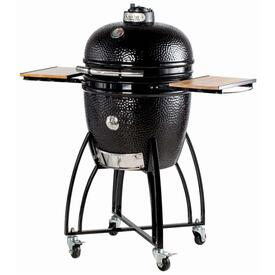 "Large 19"" Bronze Kamodo Smoker Grill Cart"