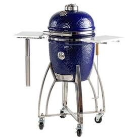 "15"" Medium Platinum Kamodo Smoker Grill Cart"