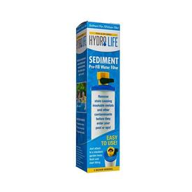 Sediment Pre-Fill Water Filter by Hydro Life