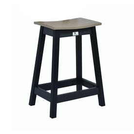 Saddle Bar Stool by Berlin Gardens