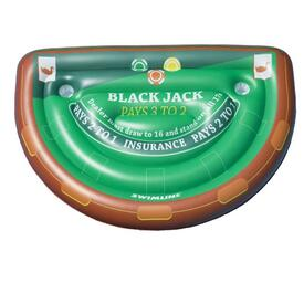 Inflatable Blackjack Table with waterproof cards
