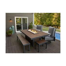 Kenwood Linear Dining Table by The Outdoor GreatRoom Company