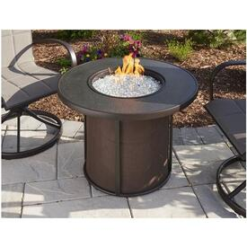 Stonefire Gas Fire Table by the Outdoor GreatRoom Company