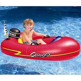 Young Swimmers Can Cruise Around Your Swimming Pool In This Inflatable Pool Toy!