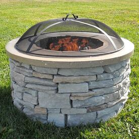 James Fire Pit Project by Leisure Select