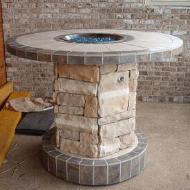 Lancaster Fire Pit Project by Leisure Select