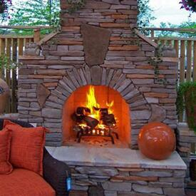 Owens Fireplace Project by Leisure Select