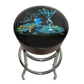 Pool Shark II Bar Stool by Michael Godard