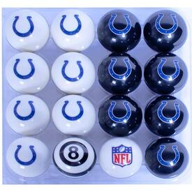 Colts Pool Ball Set by Family Leisure