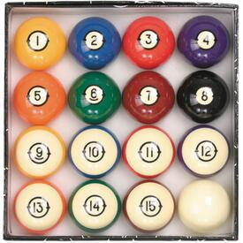 Heirloom Pool Ball Set by American Heritage