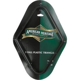 Plastic 9 Ball Rack by American Heritage