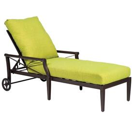 Andover Chaise Lounge by Woodard