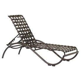 La Scala Strap Chaise Lounge by Tropitone