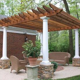 Ramsey Pergola Project by Leisure Select