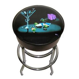 Pocket Rockets Bar Stool by Michael Godard