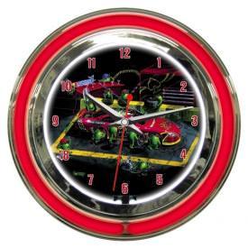 Nasbar Wall Clock by Michael Godard